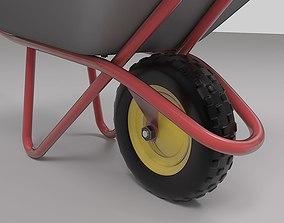 Construction Wheelbarrow 3D