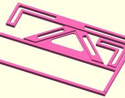 3D printable model Scrapbook tools