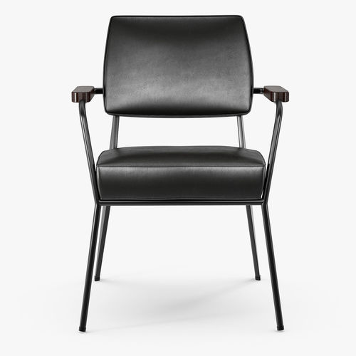 3D Vitra Fauteuil direction by Jean Prouve