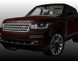Range Rover L405 Autobiography 2015 3D asset