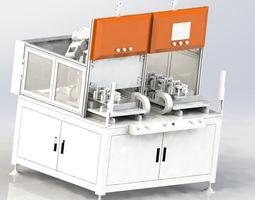 3D model machine industry industrial equipment 2