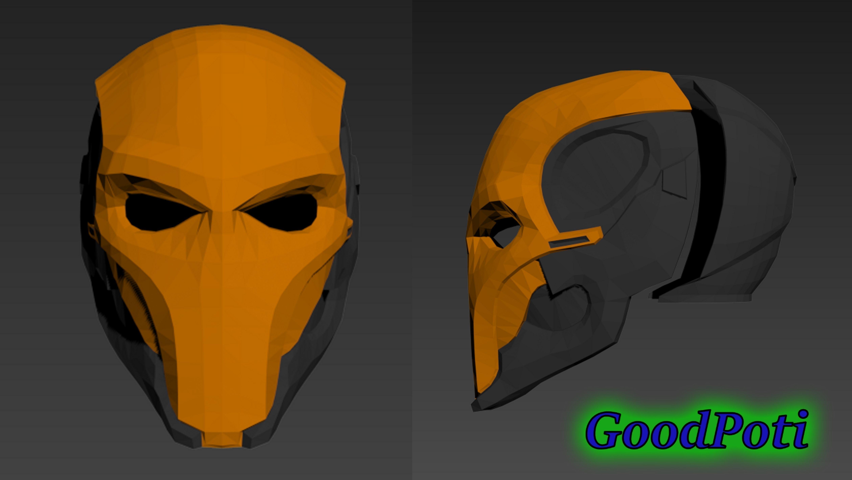 Deathstroke Helmet 3D Printable