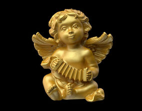 Angel statuette 3D print model