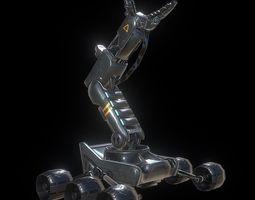 Robotic Arm 3D model game-ready