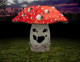 Mushroom Monster 3D model