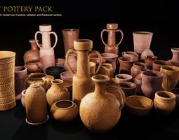 Ancient Pottery Pack 3D model