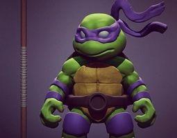 3d print model chibi mutant ninja turtles - don