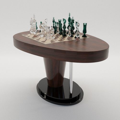 Chess Game Table New Design By Dusan Mocko 3d Model