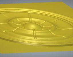 Decorative circle 3D stl model