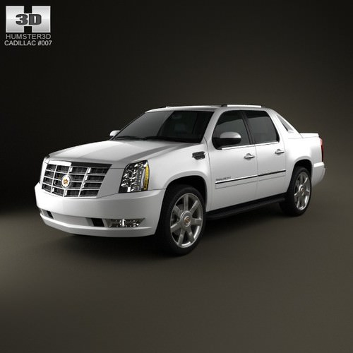 Cadillac Escalade Ext Used: Cadillac Escalade EXT 2011 3D