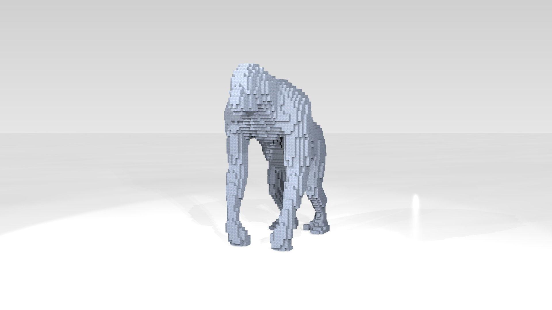 Orangutan Voxel | 3D model