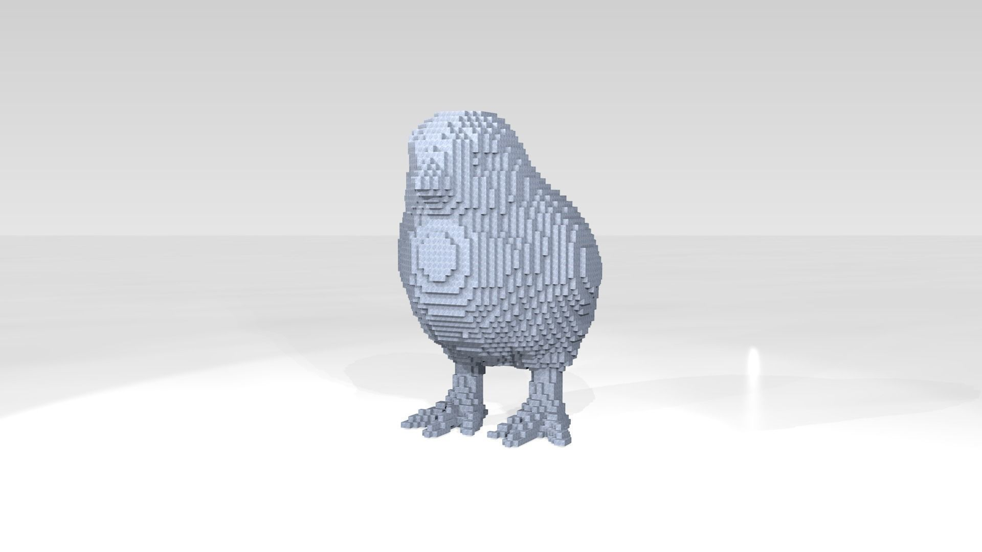 Chick Voxel | 3D model