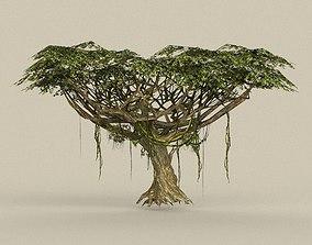 3D model oak Game Ready Tree 22