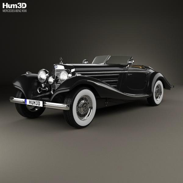 Mercedes-Benz 540K 1936