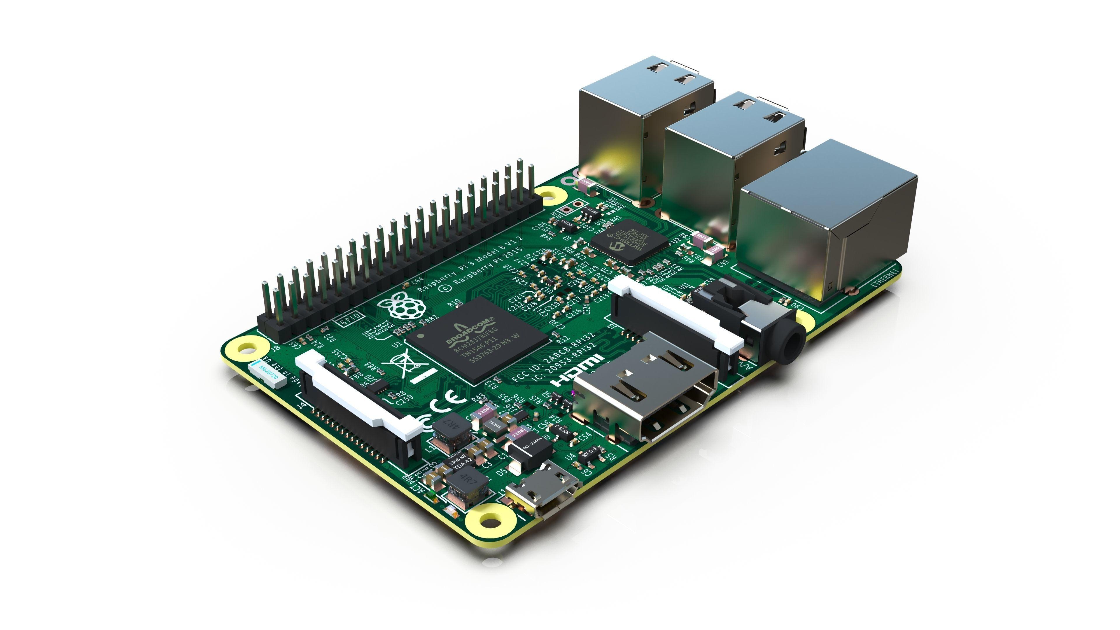Raspberry Pi 3 model B - Reverse engineering
