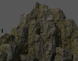 3D asset realtime Mountain