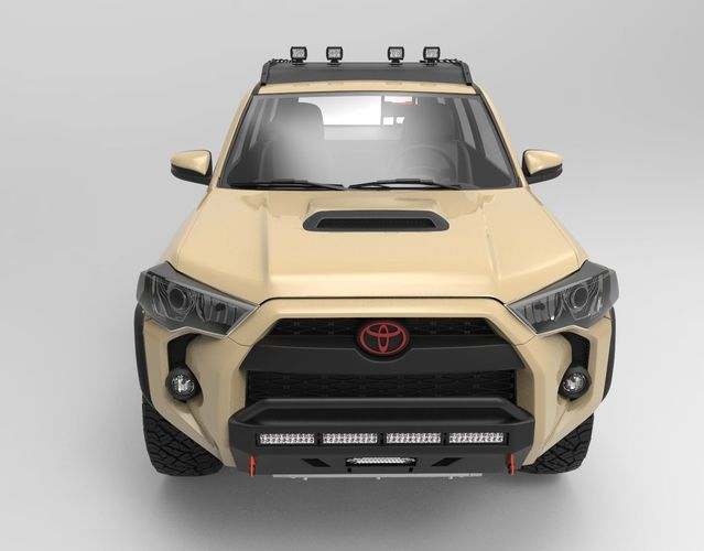 Toyota 4runner 2018 Trd Pro Edition With 4x4 Accesories Model