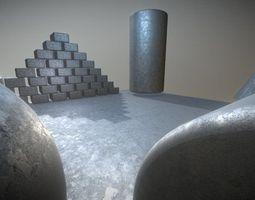 Galvanized Iron 1 - Texture Set 13 3D asset