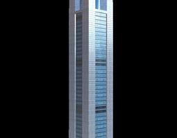 3D asset CITIC Plaza Tower