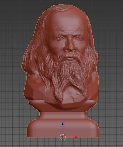 mendeleyev  for 3d printing 3d model stl 1