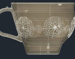 3D print model Celtic Knot Cup