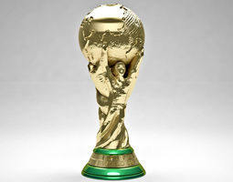 championship Fifa World Cup Trophy 3D