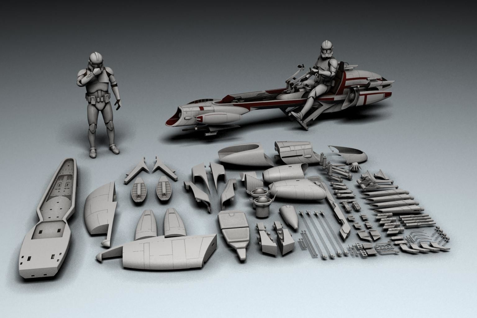Star Wars BARC Speeder