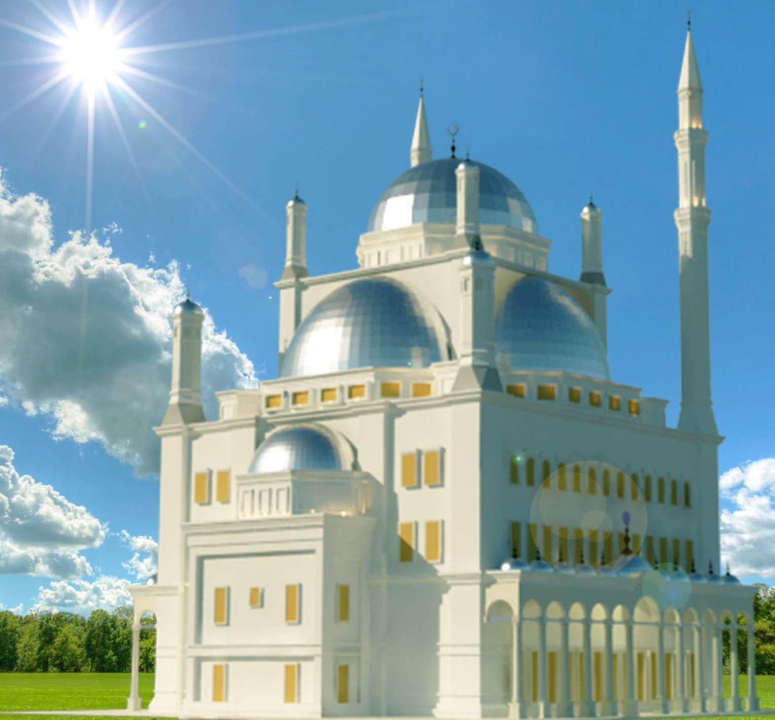 mosque of Mohamed Ali in Egypt