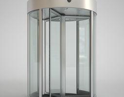 Revolving Door 180cm 3D model