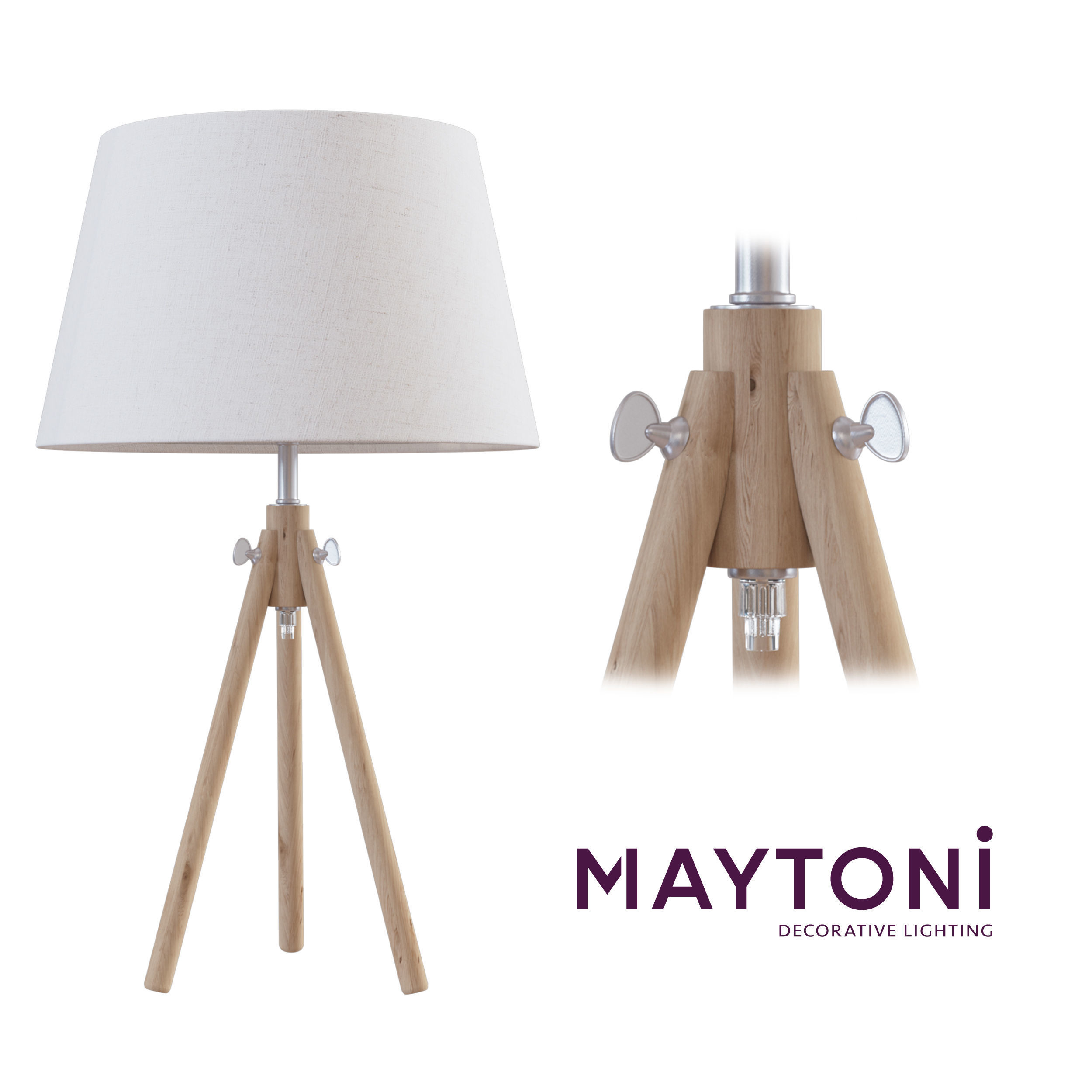 Table Lamp Z177 Tl 01 Br Maytoni Modern Free Model