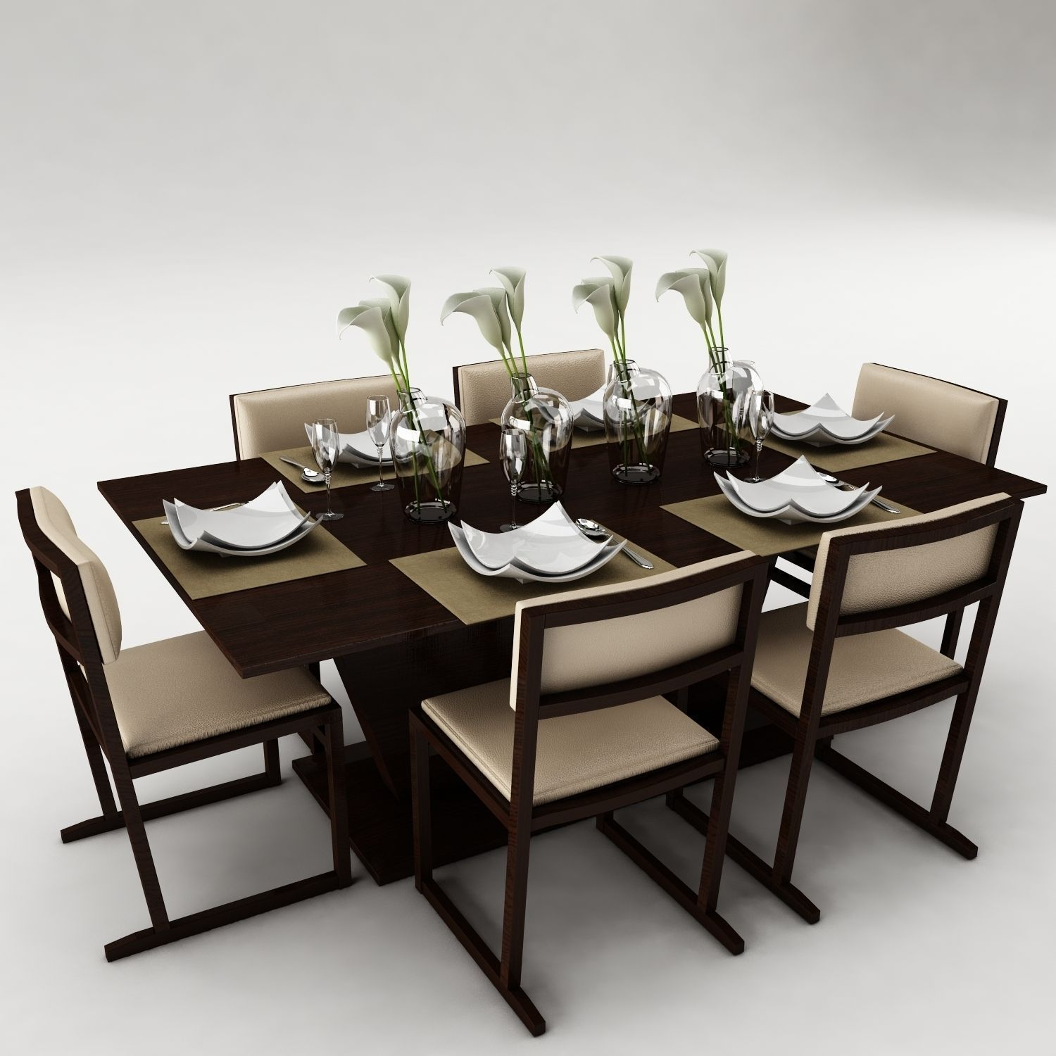 Dining table models home design for Latest model dining table designs