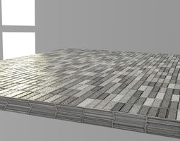 3D model HD PBR Bathroom Tile Material