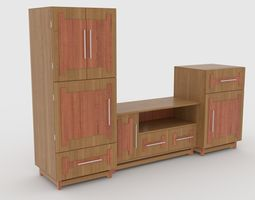3D model tv stand 60