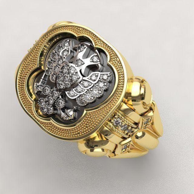 Pomelnikov empire ring - replica
