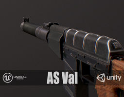 PBR AS Val 3D model