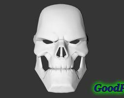 3D print model Mask of Taskmaster from the game Marvel 2