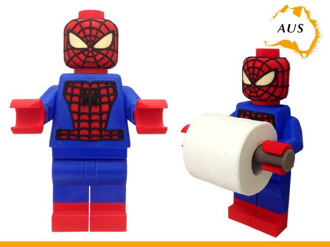 Lego Spider Man Toilet Roll Holder Bathroom Decor 3d Model Stl 1 ...