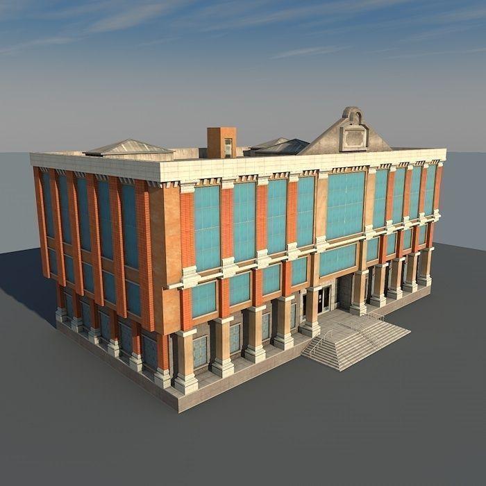 Vintage Building 09