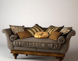 3D Provasi Classic Sofa