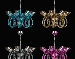 stella lightstar chandelier 3d