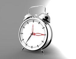 Alarm clock 3D asset game-ready