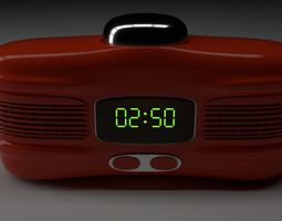 3D Alarm clock electronic