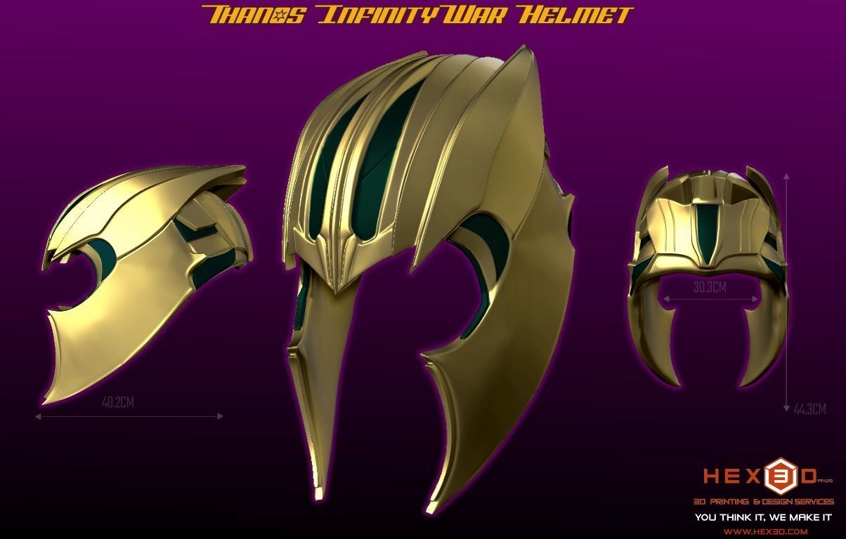 Thanos Infinity War Helmet