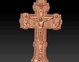 3D model Jesus on the Cross 001