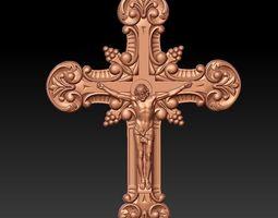 3D model JESUS ON THE CROSS 003