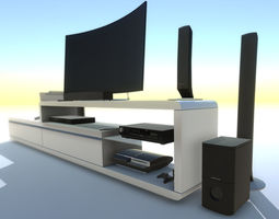 Multimedia PACK with LOD 3D model