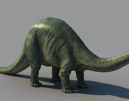 brontosaurus 3d