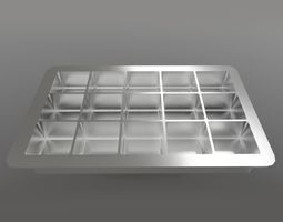 Ice Cube Tray 3D asset