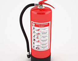 3D safety Fire Extinguisher