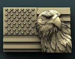 3d stl models for cnc american eagle